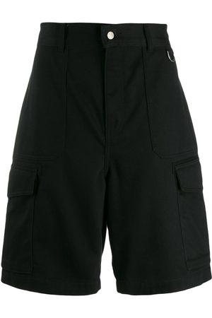 Ami Men Bermudas - Men Patch Pockets Bermuda Shorts