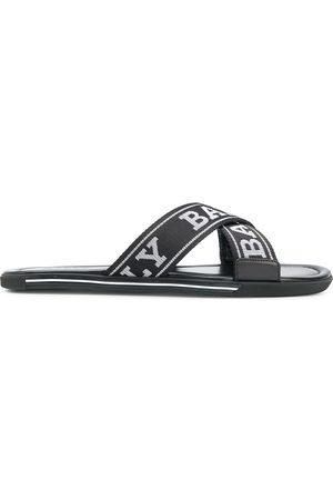 Bally Bonks logo strap sandals