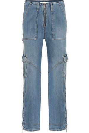 JONATHAN SIMKHAI High-rise straight jeans