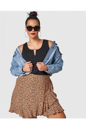 Sunday In The City Maze Skirt - Skirts (neutrals) Maze Skirt