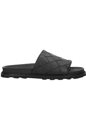 Bottega Veneta Sandals in intreciatto calf leather