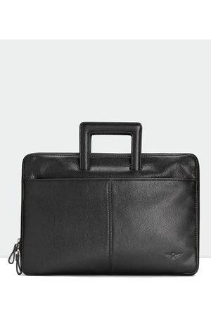 Aquila Men Briefcases - Montoro Slim Briefcase - Bags Montoro Slim Briefcase