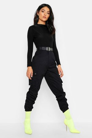 boohoo Woven Pocket Cargo Pants