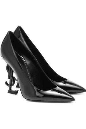 Saint Laurent Opyum 110 patent leather pumps