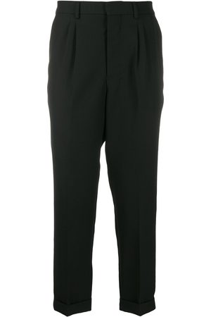 Ami Paris Carrot fit tapered trousers