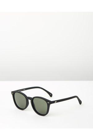 Le Specs Bandwagon - Square ( Rubber & Khaki Mono) Bandwagon