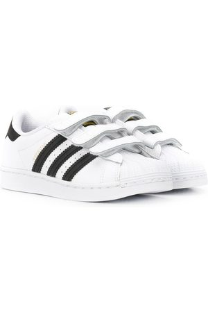 adidas Superstar touch-strap sneakers