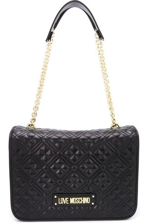 Love Moschino Women Shoulder Bags - Faux leather quilted shoulder bag