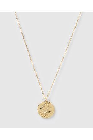 Izoa Women Necklaces - Star Sign Necklace Pisces - Jewellery Star Sign Necklace Pisces