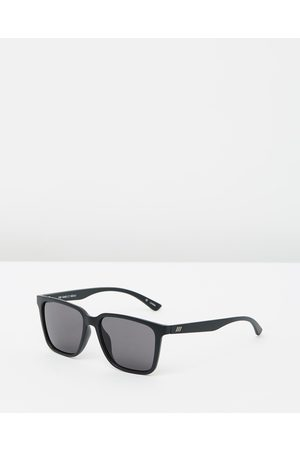 Le Specs Sunglasses - Fair Game - Square (Matte & Smoke Mono) Fair Game