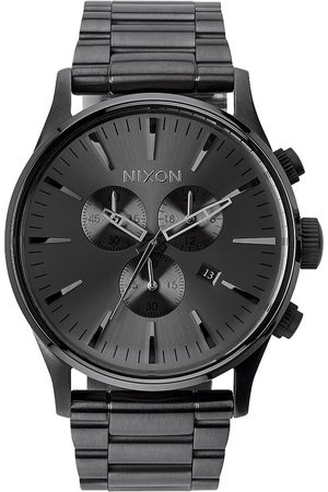 Nixon Sentry Chrono - Watches (All Gunmetal) Sentry Chrono