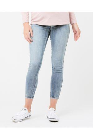 Ripe Maternity Isla Ankle Grazer Jeggings - Jeans (BlackPale ) Isla Ankle Grazer Jeggings