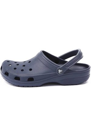 Crocs Men's Classic Navy Sandals Mens Shoes Casual Sandals Flat Sandals