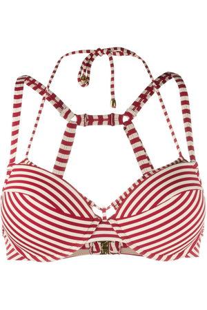 Marlies Dekkers Striped push-up bikini top