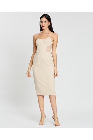 Miss Holly Women Bodycon Dresses - Adrianna Dress - Bodycon Dresses (Nude) Adrianna Dress