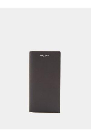 Saint Laurent Continental Leather Wallet - Mens