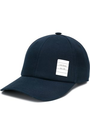 Thom Browne Men Caps - Twill 6-Panel Baseball Cap