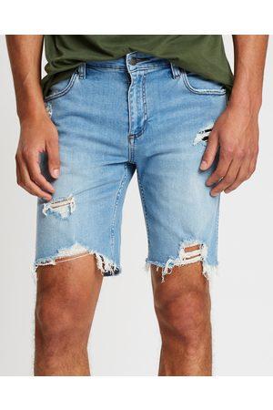 Wrangler Smith Shorts - Denim (Whiplash) Smith Shorts