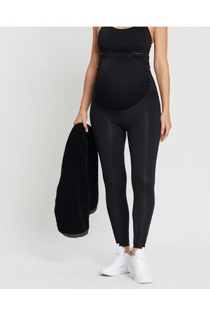 2XU Women Leggings - Prenatal Active Tights - Maternity Tights ( with Logo) Prenatal Active Tights