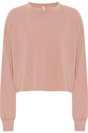 Lanston Sport Sweaters - Cropped cotton-blend sweater