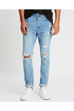 Wrangler Sid Slim Tapered Jeans - Slim (Whiplash) Sid Slim Tapered Jeans