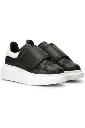 Alexander McQueen Touch-strap low-top sneakers
