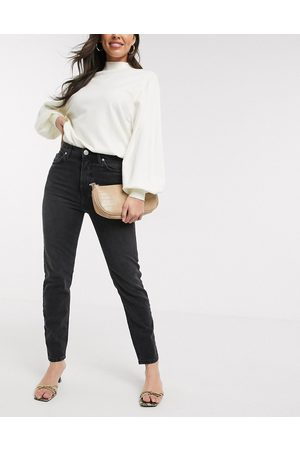 River Island Original slim fit jeans in mid wash black