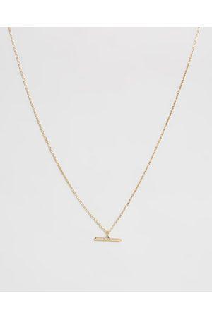 Orelia Women Necklaces - T Bar Ditsy Necklace - Jewellery (Pale ) T-Bar Ditsy Necklace