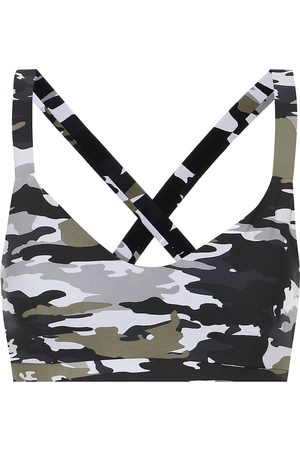 The Upside Sports Bras - Sophie camo-print sports bra