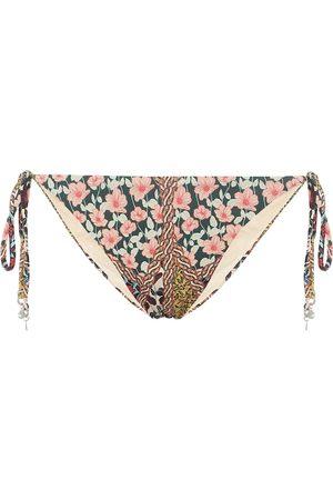 The Upside Alba floral bikini bottoms