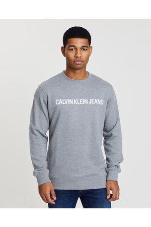 Calvin Klein Core Institutional Sweater - Sweats ( Heather) Core Institutional Sweater