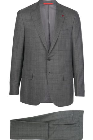 ISAIA Single-breasted check suit