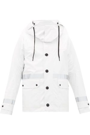 Moncler Paillon Logo-patch Technical Hooded Parka - Mens