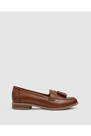 Easy Steps Women Loafers - Gazebo - Flats (COGNAC) Gazebo