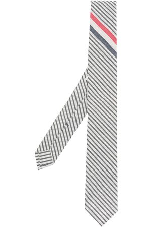 Thom Browne Striped point tip tie