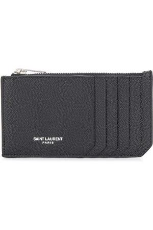 Saint Laurent Fragments zipped cardholder