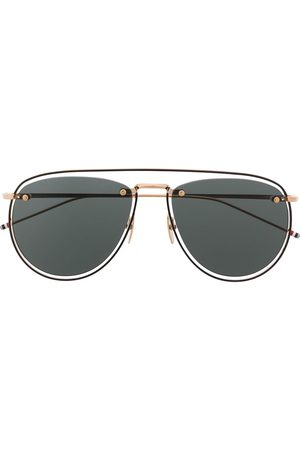 Thom Browne Sunglasses - TB-S113 aviator sunglasses