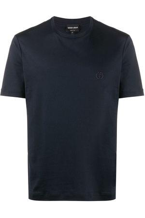Armani Men Short Sleeve - Short-sleeved crew neck T-shirt