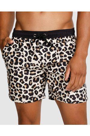 Vacay Swimwear Savanna Swim Shorts - Swimwear (Leopard) Savanna Swim Shorts