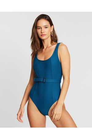 LENNI the label Currents Full Piece - One-Piece / Swimsuit (Marine) Currents Full- Piece