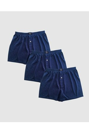 Coast 3 Pack Boxer Shorts - Underwear & Socks (Navy) 3 Pack Boxer Shorts