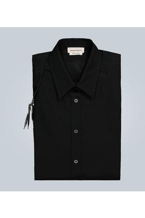 Alexander McQueen Cotton harness shirt