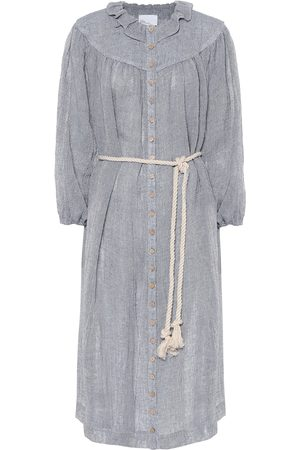 Lisa Marie Fernandez Fiona linen shirt dress