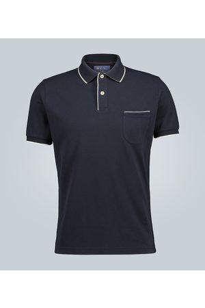 Loro Piana Short-sleeved cotton polo shirt