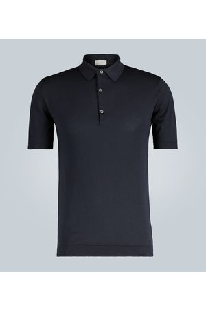 JOHN SMEDLEY Adrian short-sleeved polo shirt