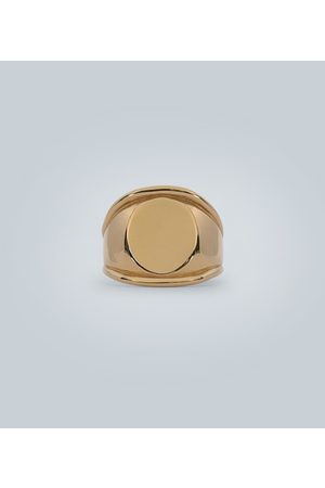 Bottega Veneta Yellow- silver ring