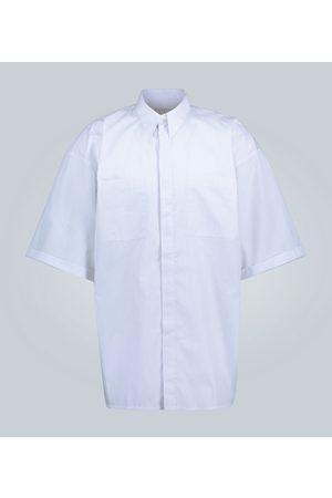 Givenchy Pinstriped short-sleeved shirt