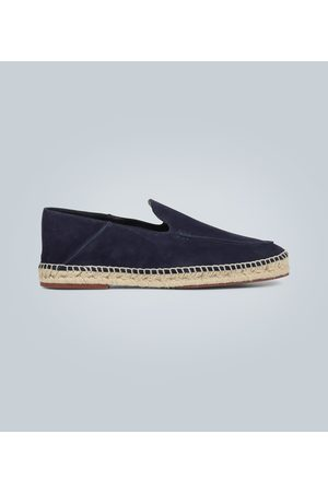 Loro Piana Seaside Walk suede espadrilles