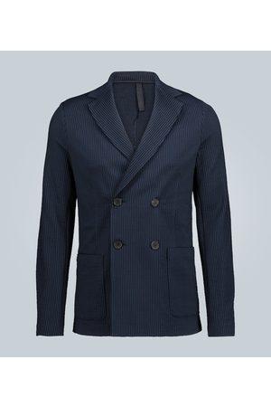 Harris Wharf London Double-breasted cotton blazer