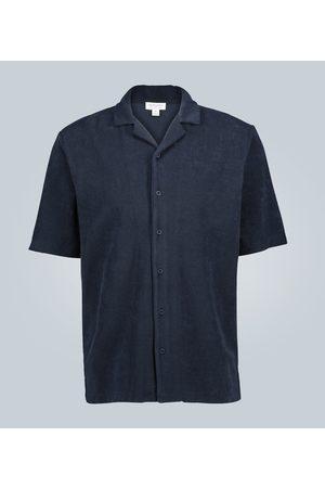 Sunspel Short-sleeved towelling shirt